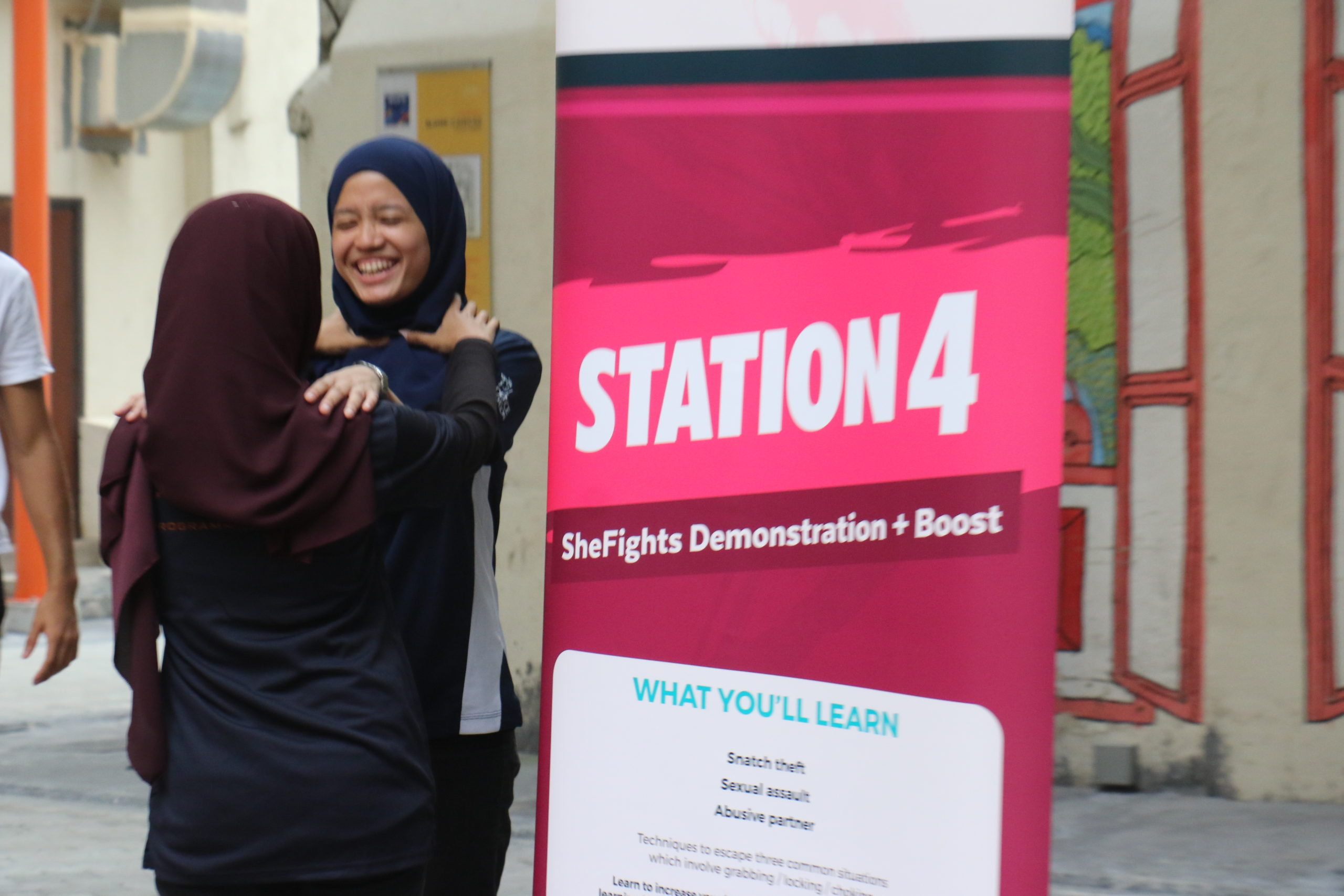 SHE Fights was created with the aim of enabling women in the city to be responsible for their own safety