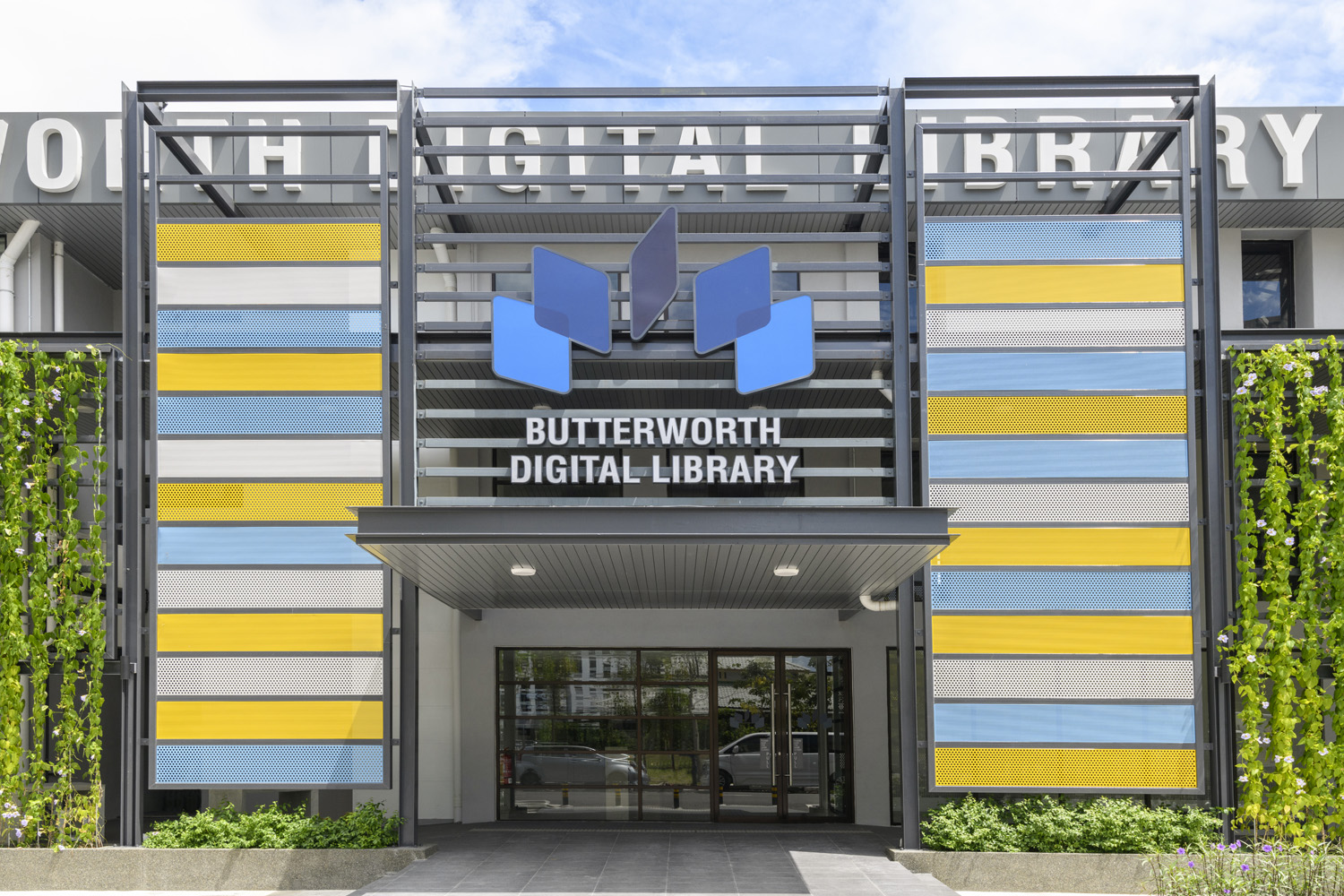 The Butterworth Digital Library, an adaptive reuse project, is equipped with state-of-the-art digital technology to serve communities within a five-kilometre radius