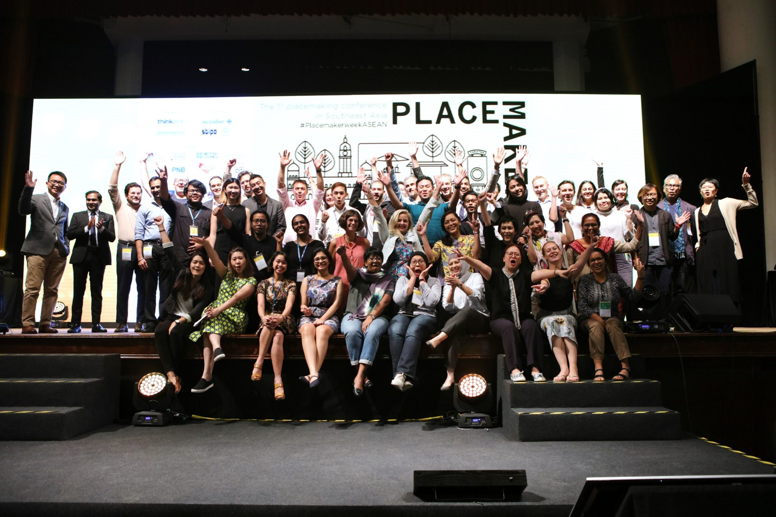 Placemaker Week ASEAN saw over 400 individuals from 20 countries participating in knowledge sharing on the practice of placemaking