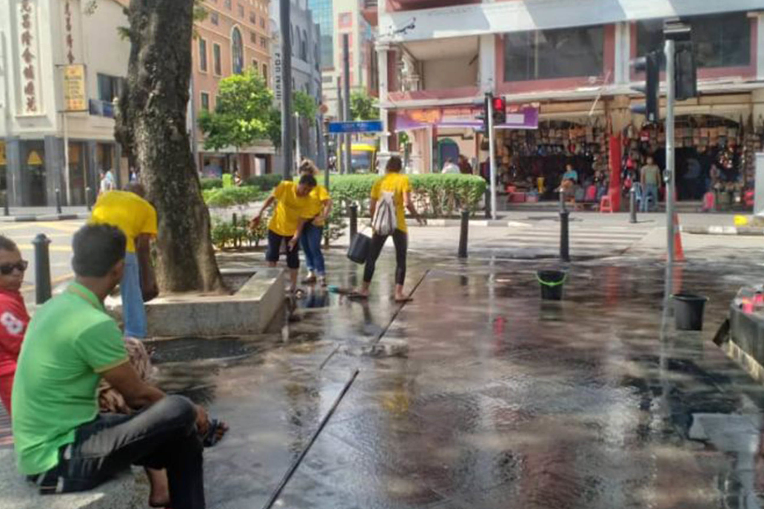 Community Connect was a pilot project aimed at helping individuals sleeping rough in Kuala Lumpur find employment and a way to exit homelessness